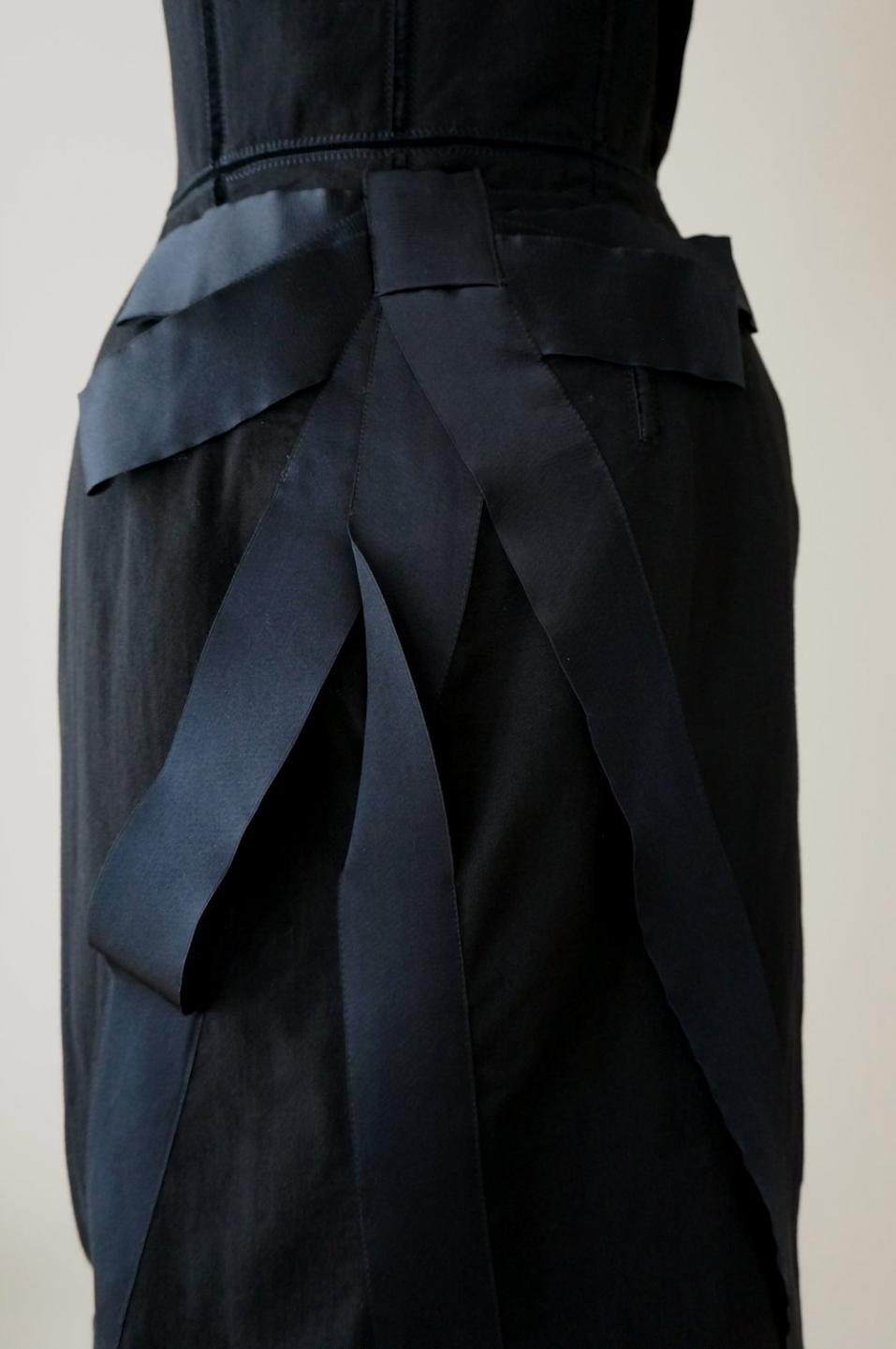 ランバン ウールベアトップドレス