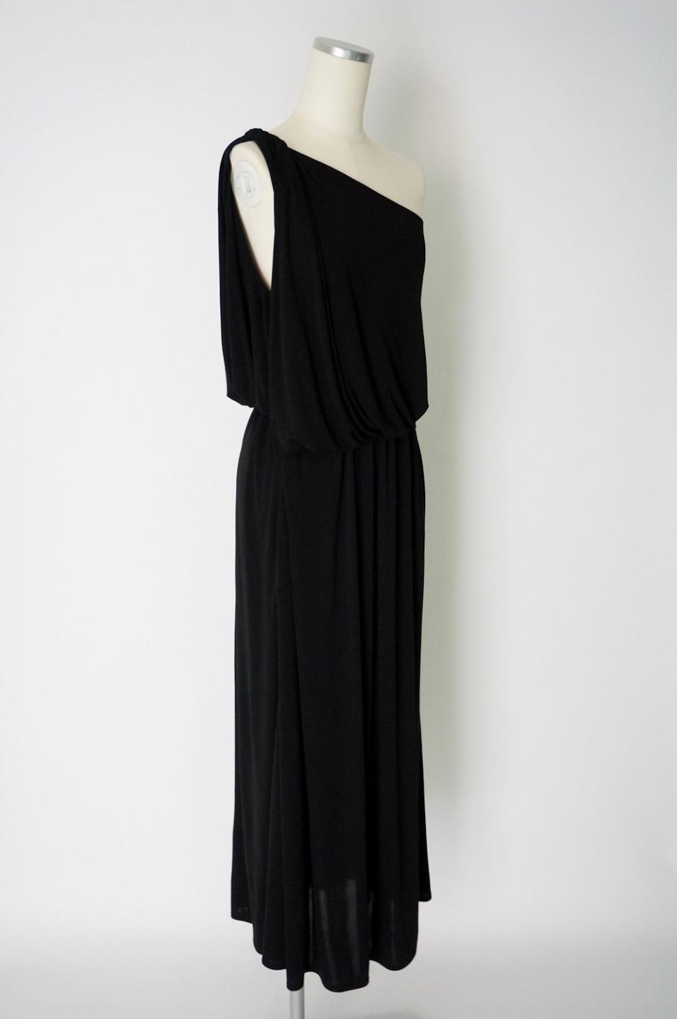ランバン ワンショルダーロングドレス; ランバン ワンショルダーロングドレス
